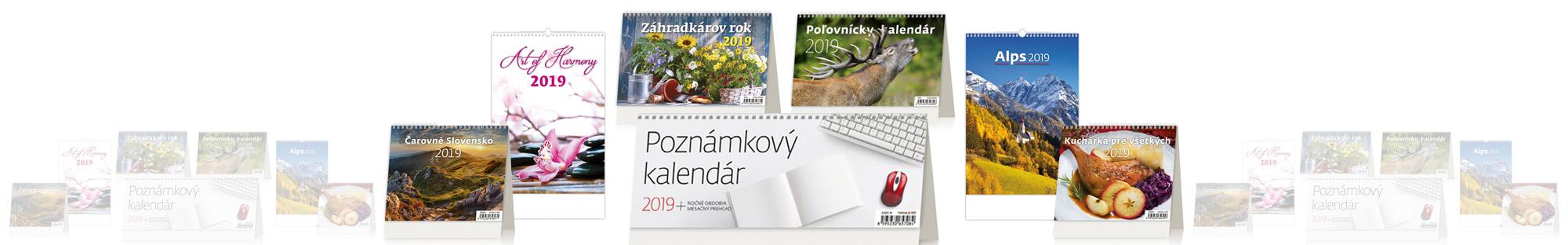 Kalendáre 2019