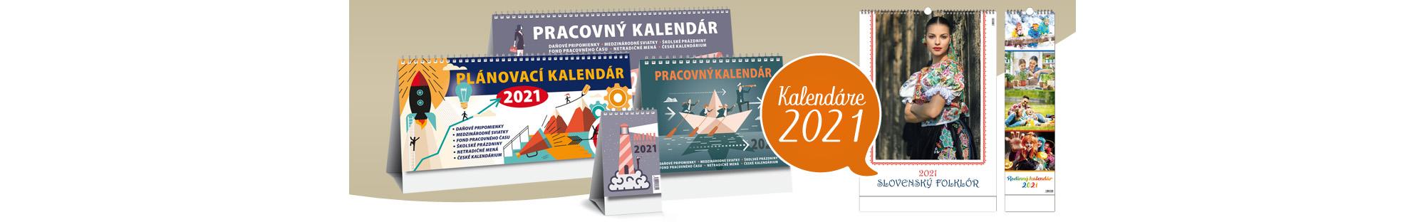 Kalendáre 2021