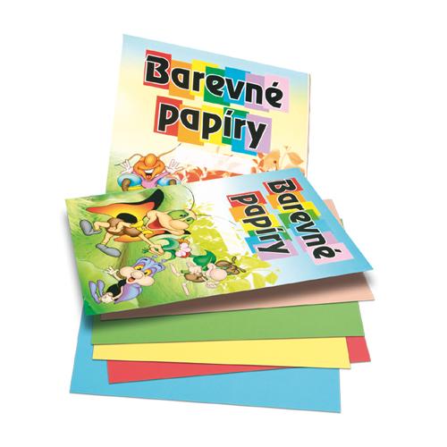 Zložka farebného papiera A4 20 listov 80g