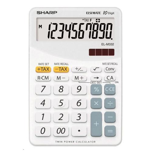 Kalkulačka stolová SHARP EL-M332B-WH