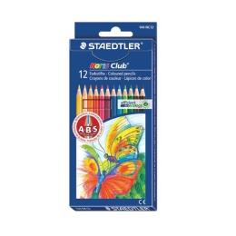 """Farebné ceruzky, šesťhranné, STAEDTLER """"Noris Club"""", 12 rôznych farieb"""