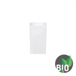 Vrecká desiatové pap. - biele 0,5 kg (15+7 x 35 cm) /1000ks/