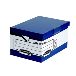"""Archívny kontajner, kartónový, ergonomický úchyt, otváranie veka nahor, """"BANKERS BOX® by F"""