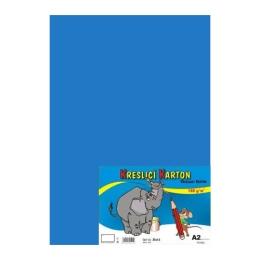 Výkres školský A2 180g / 10 listov modrý