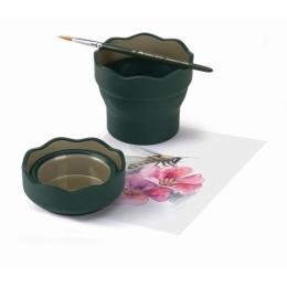 Pohár na vodu Faber-Castell Klik zelený