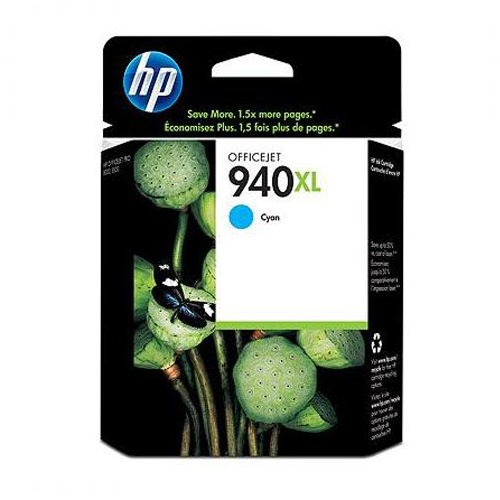 Atrament HP C4907AE No.940XL, cyan