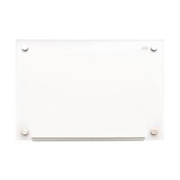 """Sklenená magnetická tabuľa, 60x90 cm, NOBO """"Diamond"""", biela"""