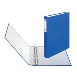 Poradač krúžkový Herlitz A4 (4-krúžkový) 2,5 cm modrý