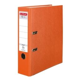 Poradač pákový Herlitz A4 80 mm oranžový