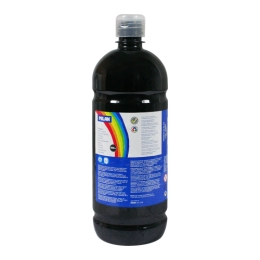 Farba temperová 1000ml čierna