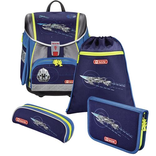Školská taška - 4-dielny set Step by Step TOUCH 2, Vesmírny Pirát