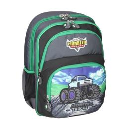 Školský batoh ergonomický, Monster Truck