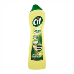 Cif Cream Lemon tekutý prášok 500 ml