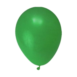 Balón M 25 cm, zelený /10 ks/