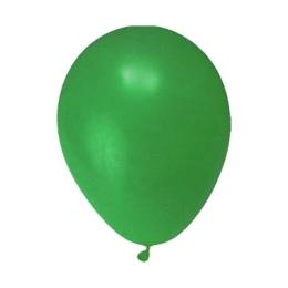 """Balóny  nafukovacie zelené """"M"""" (10 ks)"""
