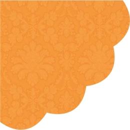 Obrúsky PAW R 32 cm Inspiration Perforated Orange