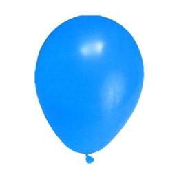 Balón M 25 cm, tmavomodrý /10 ks/