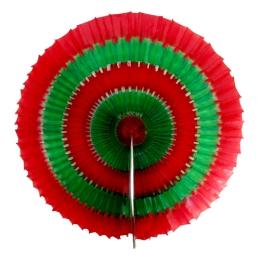 Dekorácia závesná - Kruh papierový 40 cm
