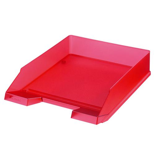 Zásuvka odkladacia - Classic červená - transparent.