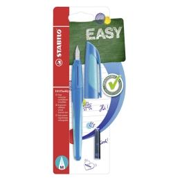 Pero bombičkové STABILO EASYbuddy - dark/light blue M, blister