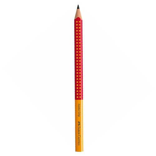 Grafitová ceruzka Grip Jumbo / B oranžová/červená