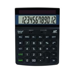 Kalkulačka stolová REBELL RE-ECO 450 BX
