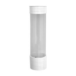 Plastový zásobník pohárov O,70 mm, biely
