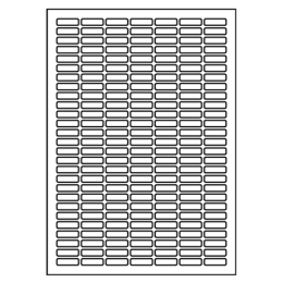 Etikety Print 25,4 x 10, biele (100 A4/bal)