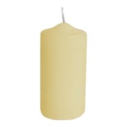 Sviečka valcová 50 x 100 mm, béžová (4 ks v bal.)