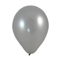 Balón M 25 cm, strieborný /100 ks/