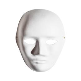 Maska tvár polystyrénová 24x19x8 cm