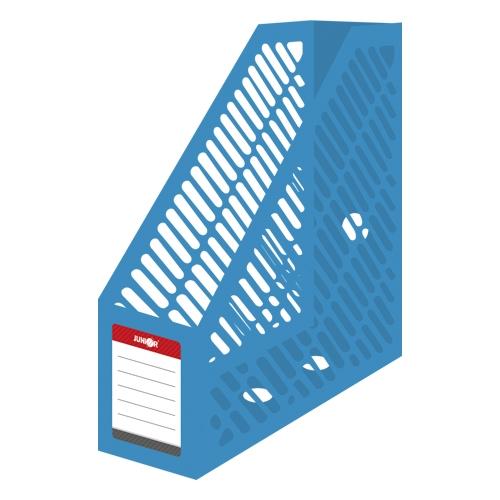Stojan na časopisy A4 JUNIOR - plastový/modrý