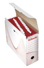 Archivačná krabica Esselte na závesné dosky, biela