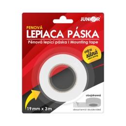 Lepiaca páska obojstranná penová 19 mm x 2,5 m