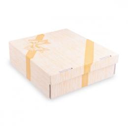 Krabica na tortu celoplošná potlač 28 x 28 x 10 cm, 100 ks