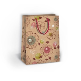 Darčeková taška celoročná T4 Natur, mix