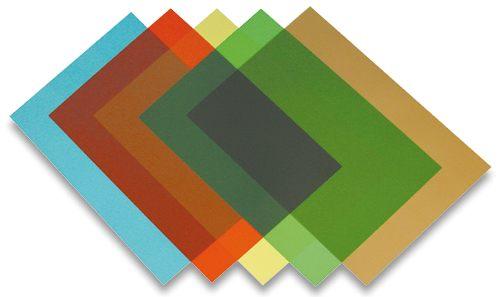 Fólia na prednú stranu Prestige A4 200 µm svetlo zelená