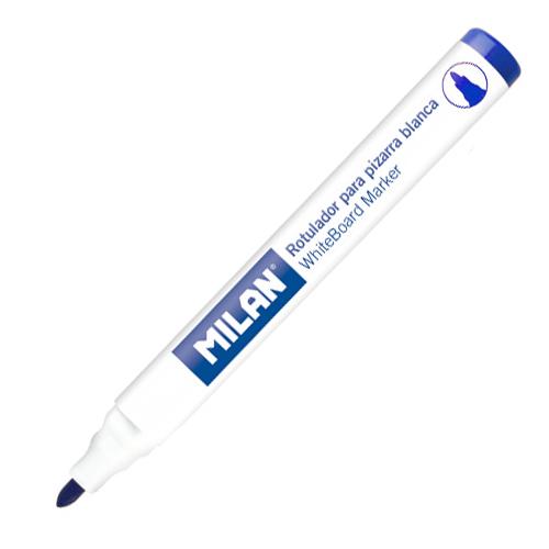 Popisovač MILAN Whiteboard Marker 4,7 mm, modrý