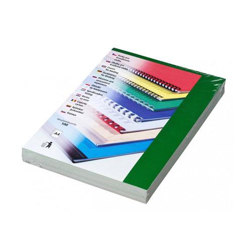 Kartónové dosky CHROMOLUX A4 zelené