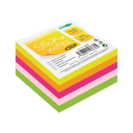 Blok/kocka samolepiaca Sticky Notes - Neon 76x76 mm/500 l.