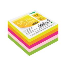 Blok lepiaci Sticky Notes - Neon 76x76 mm/500 l.