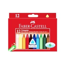 Voskovky Faber-Castell triangular 12 farieb