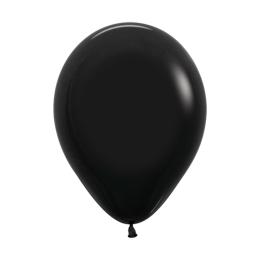 Balón Solid 28 cm, čierny /100ks/