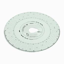 Tachokrúžky Kienzle 140-24/2 4B 100ks