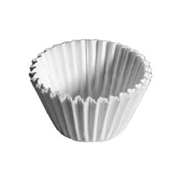 Cukr. košíčky biele priemer 50 mm, výška 30 mm /100 ks/