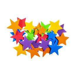 Dekoračná pena hviezdičky, sada 40 ks