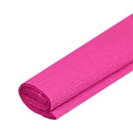Krepový papier JUNIOR - tm. ružový 12