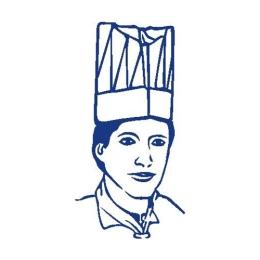 Kuchárska čiapka vysoká biela 24 cm  (10 ks v bal.)