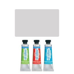 Farba olejová JUNIOR 45 ml strieborná 810