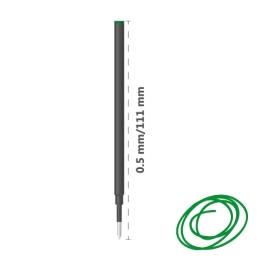 Náplň pre rollery keramická MICRO 0,5 mm - zelená